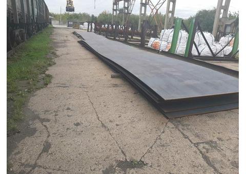Лист сталь для мостостроения 15ХСНД